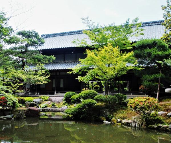 豪農の館 北方文化博物館の庭園