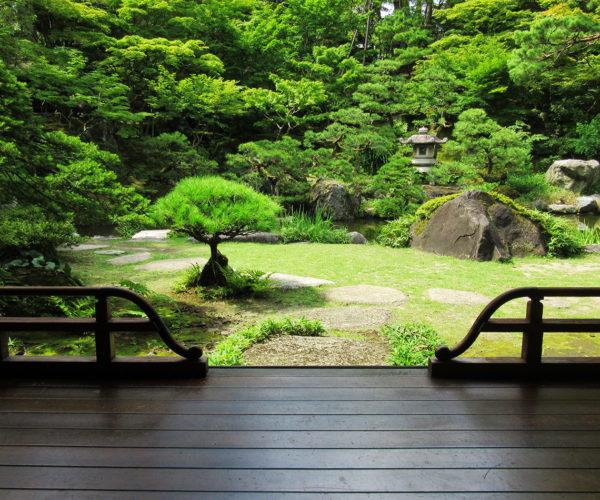 新潟市 旧齋藤家別邸の庭園